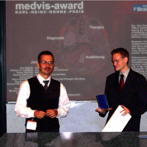Impression of MedVis Award 2004