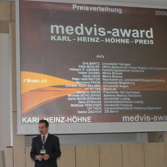 Impression of MedVis Award 2006